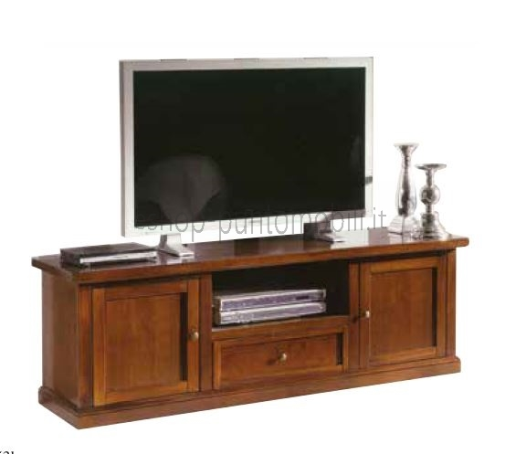 Art.233/B Porta tv 2 porte 1 cassetto